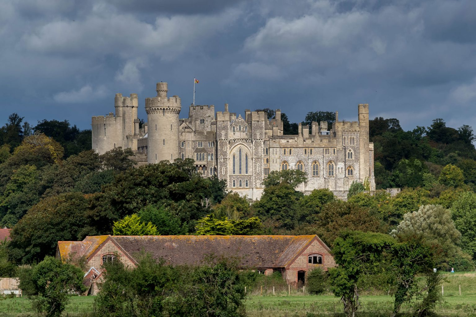 Arundel Castle, West Sussex.