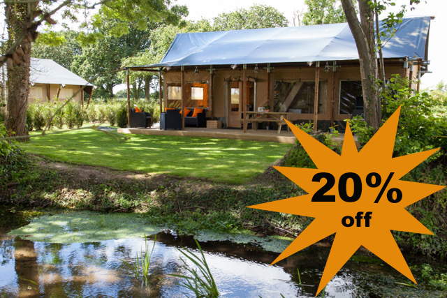 20% off safari lodge bookings