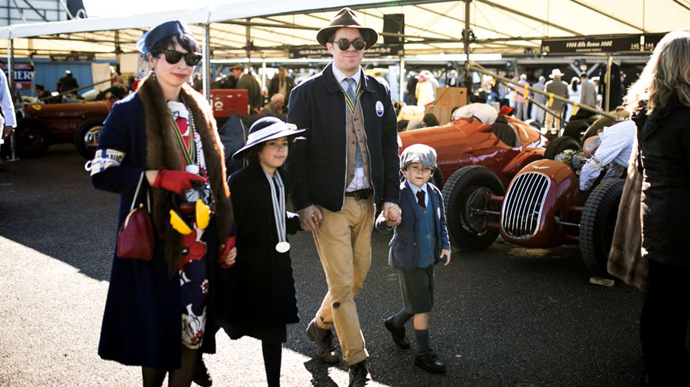 fun for all the family at Goodwood revival