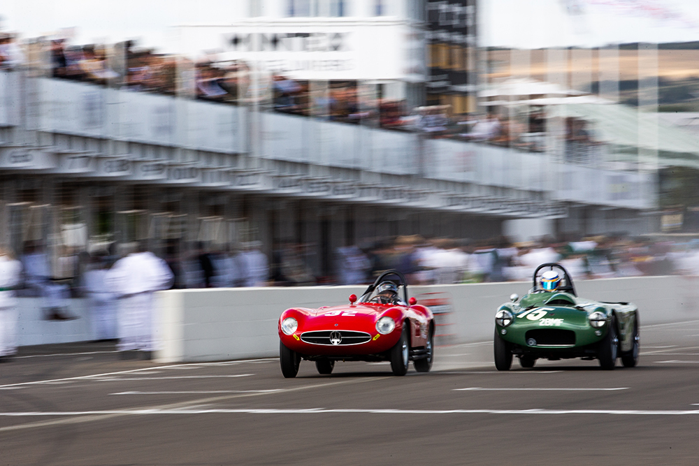 motor racing at Goodwood revival
