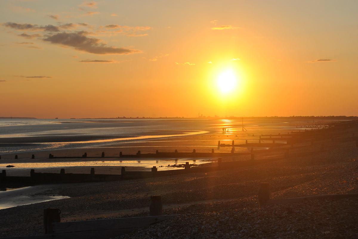 west wittering beach sunset