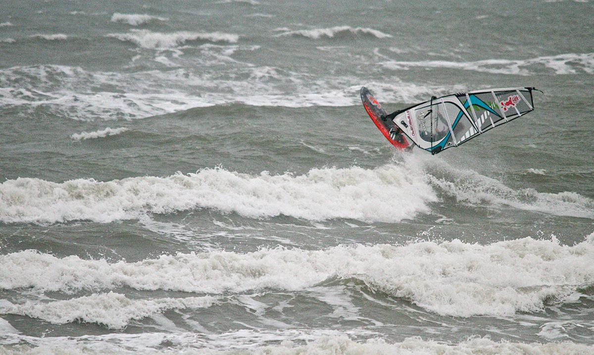 windsurfer west wittering
