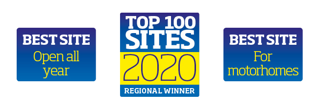 top 100 sites awards