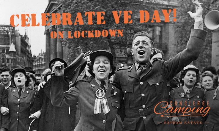 VE Day on lockdown