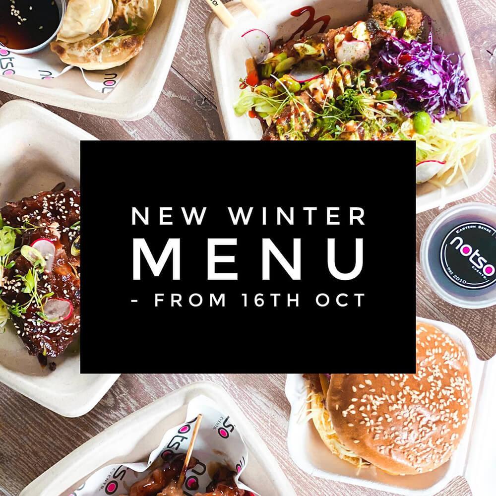 Notso new winter menu