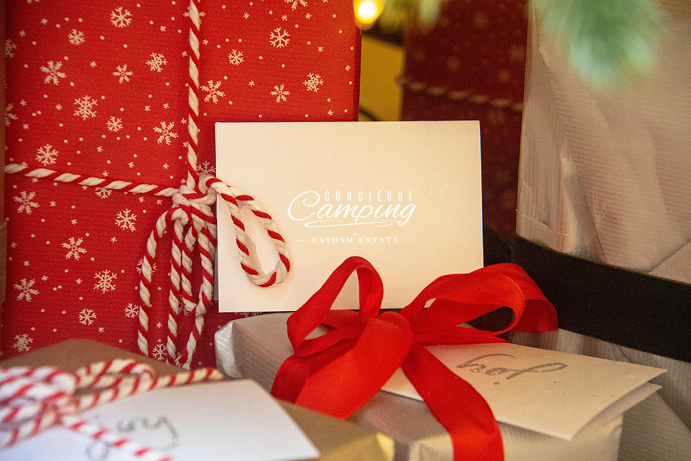 concierge camping gift vouchers
