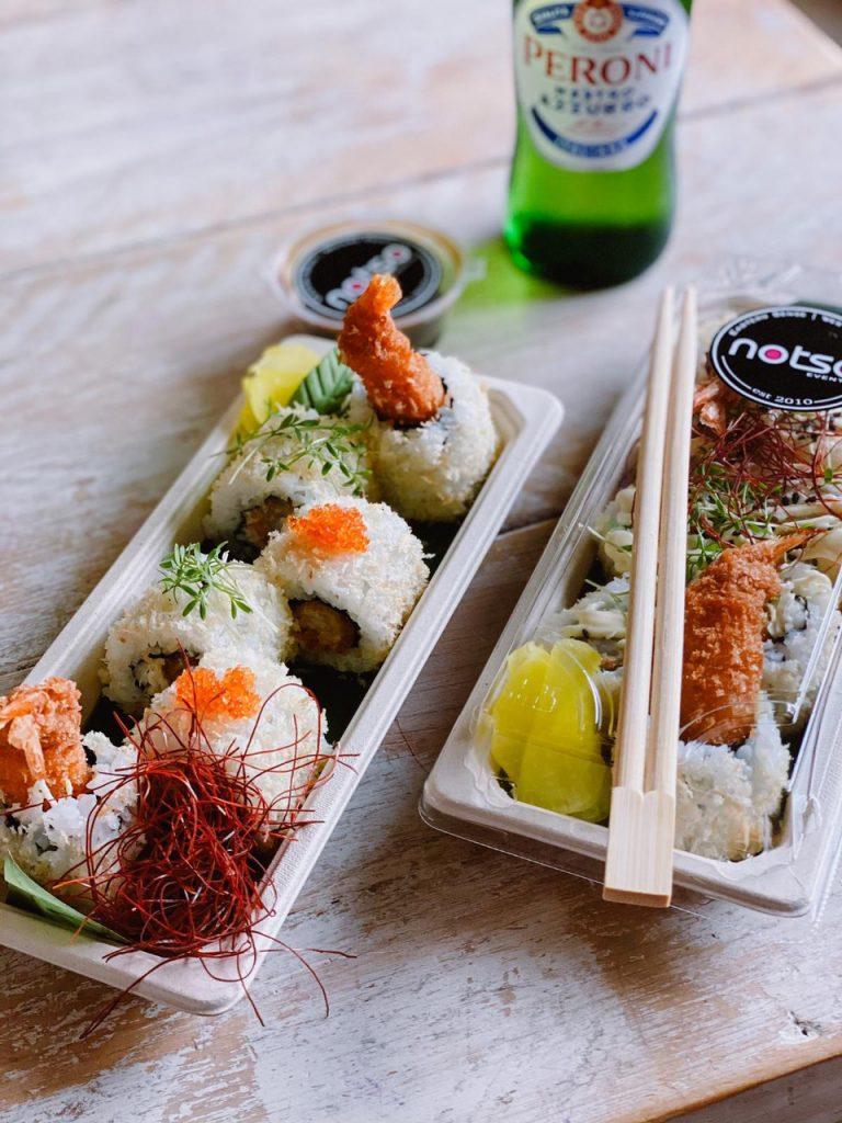 notes sushi