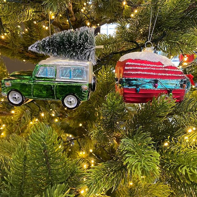 Concierge Camping Christmas tree decorations
