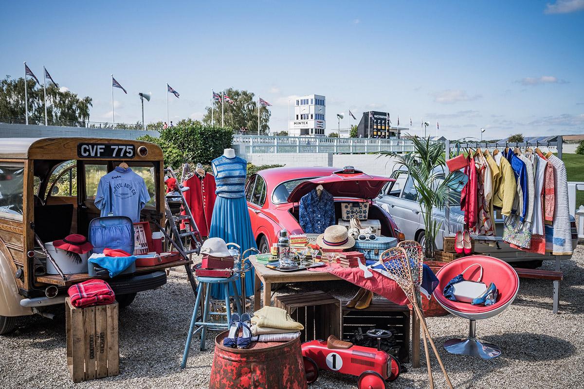 goodwood revival car boot sale