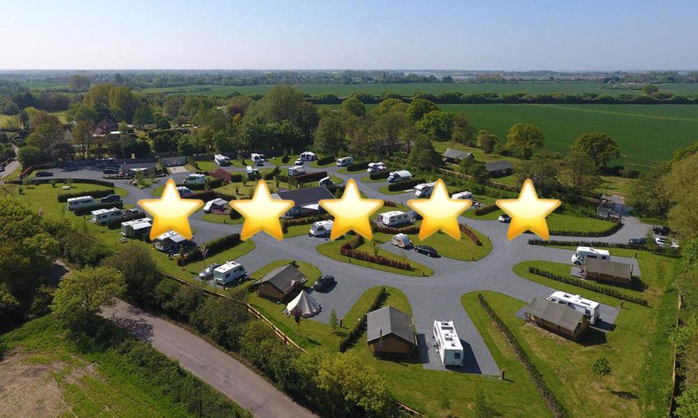 concierge camping 5 star reviews
